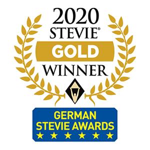 2020 Stevie Gold Winner