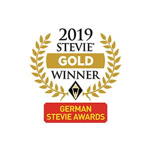 Stevie Gold Winner 2019