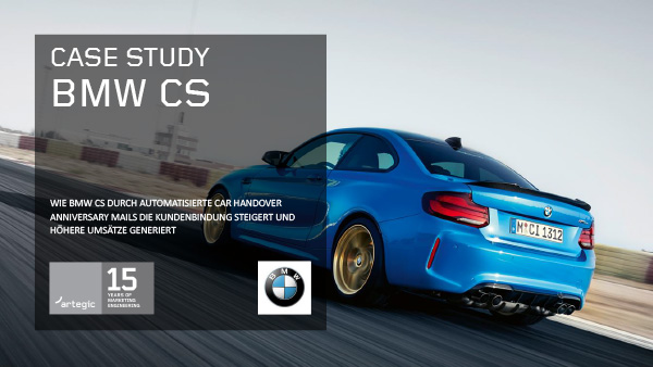 artegic Case Study: BMW CS DE Cover