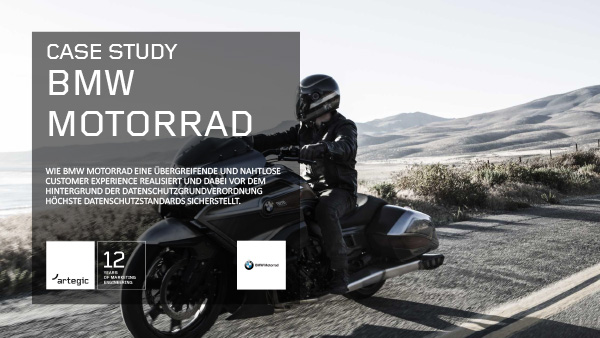 artegic Case Study: BMW Motorrad Cover