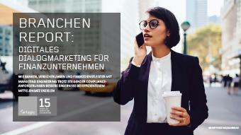 Thumb Branchen Report: Digitales Dialogmarketing für Finanzunternehmen