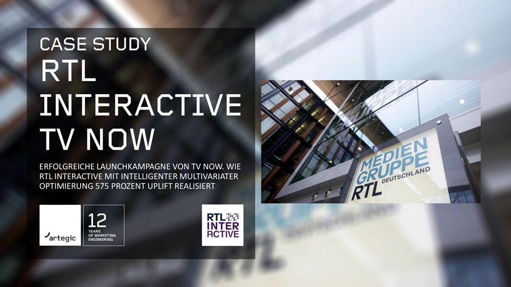 artegic Case Study RTL Interactive TV now