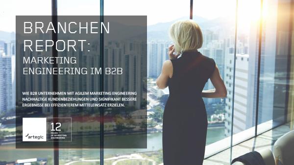Branchen Report - Marketing Engineering im B2B Cover
