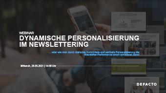 Thumb Dynamische Personalisierung im Newslettering