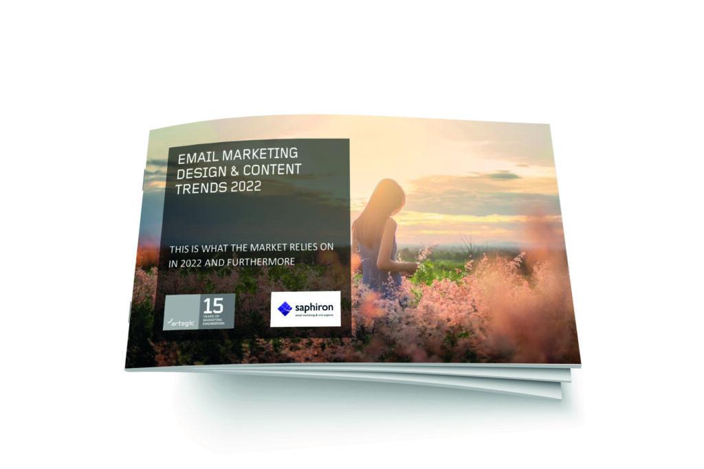 artegic study: Email marketing - design & content trends 2021